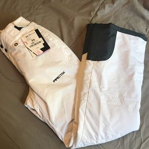 NWT Arctix White Insulated Snow Ski Pants XS